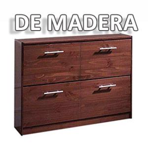 comprar muebles zapateros de madera